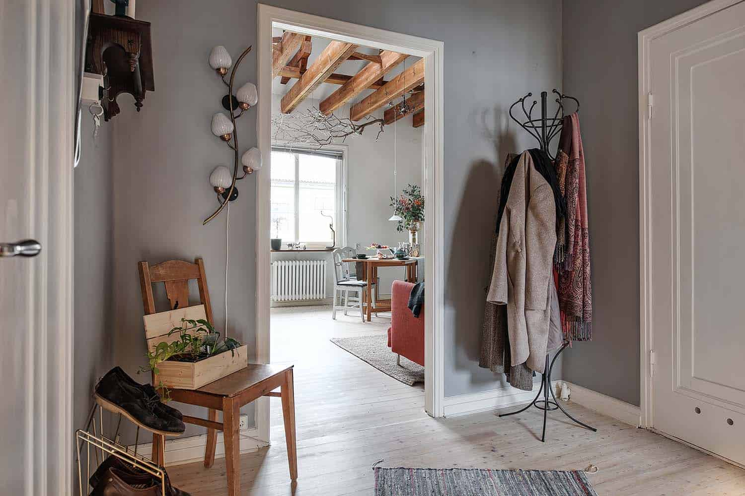 Charming One Bedroom Duplex Apartment With Cozy Layout In Sweden