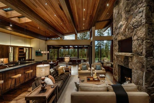 featured posts image for Mountain home provides a serene living environment in Martis Camp