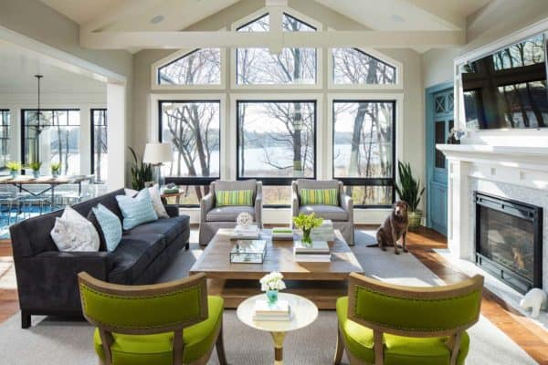featured posts image for Luminous and inviting Minnesota home overlooking Lake Virginia