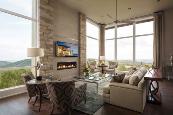 featured posts image for Impressive hilltop home enjoys panoramic views over Texas Hill Country