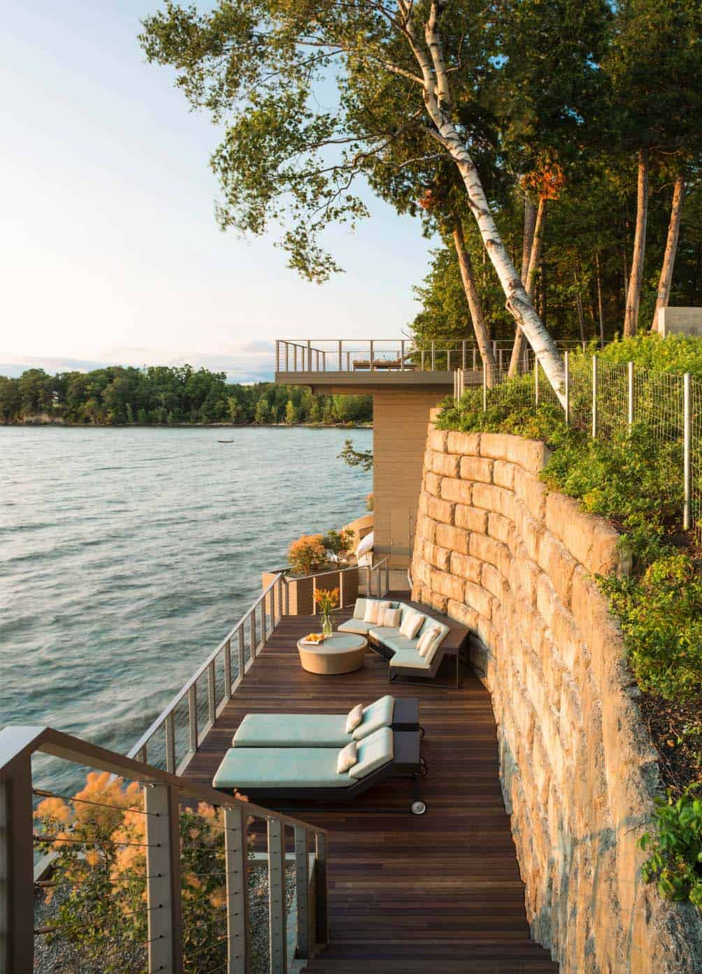 contemporary-lake-house-deck