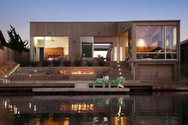 featured posts image for Chic and stylish beach house retreat on the Stinson Lagoon, California