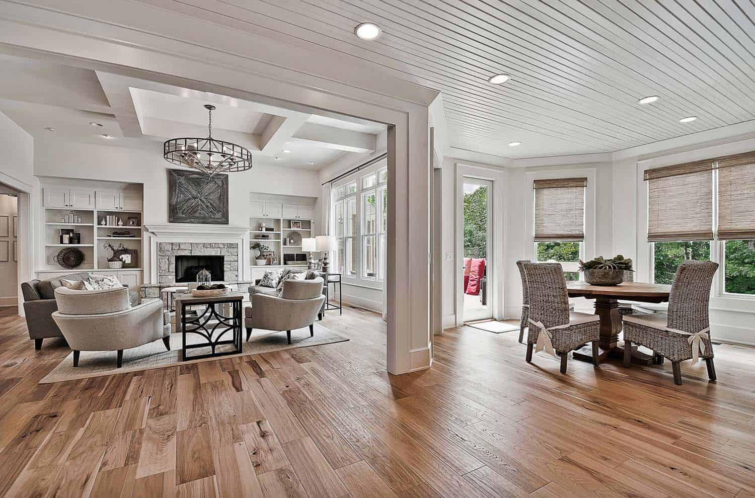 Welcoming Craftsman Style Home With Farmhouse Touches In