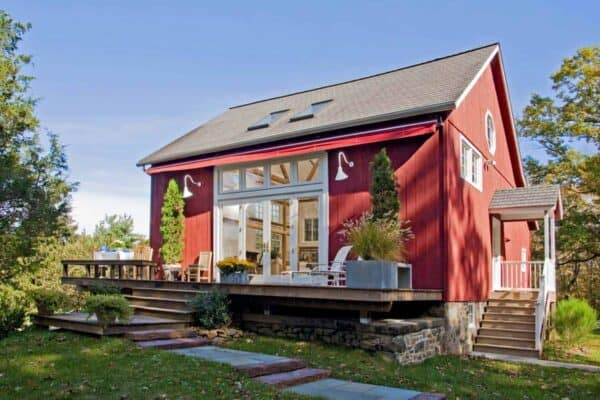 featured posts image for Bucks County historic barn converted into breathtaking guest house
