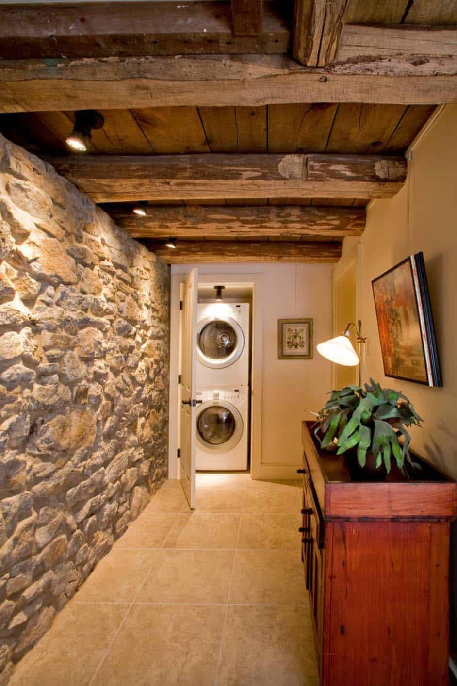 remodeled-barn-hallway-leading-to-laundry-room