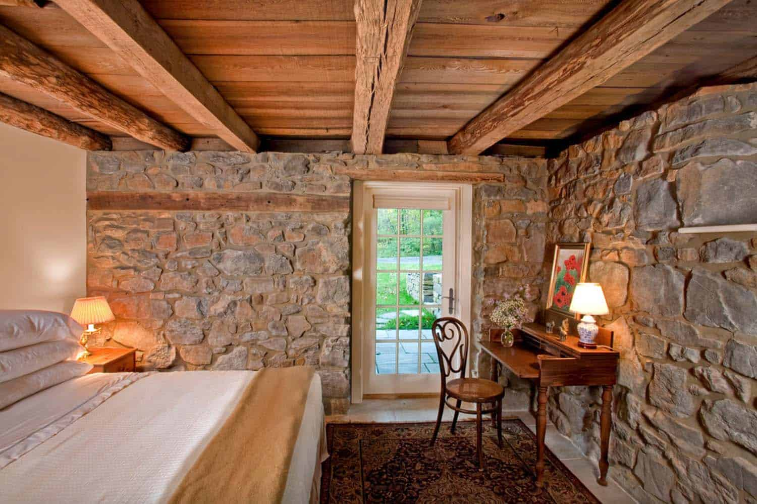 remodeled-barn-guest-bedroom-on-the-lower-level-farmhouse-bedroom