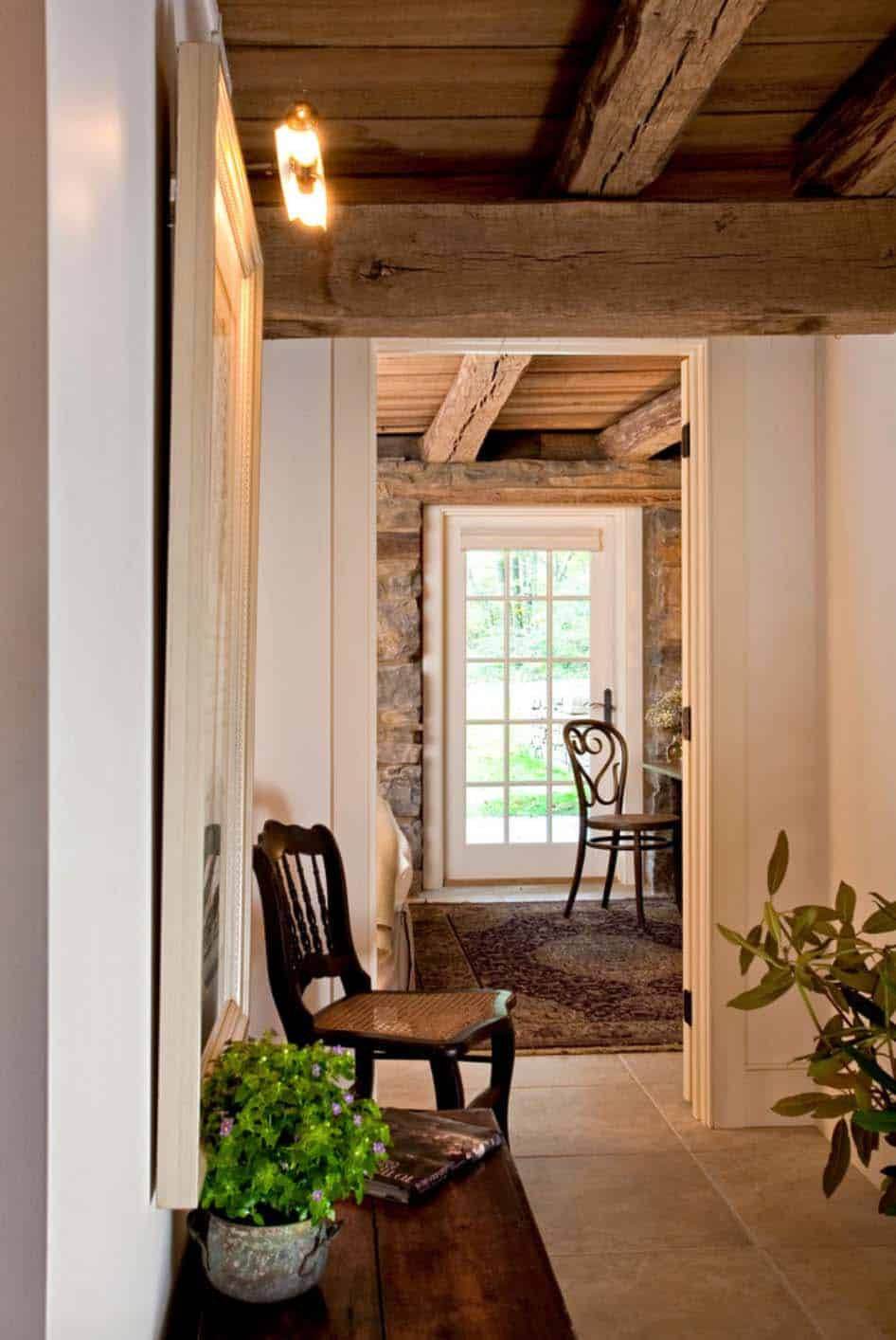 remodeled-barn-hallway-leading-to-guest-bedroom
