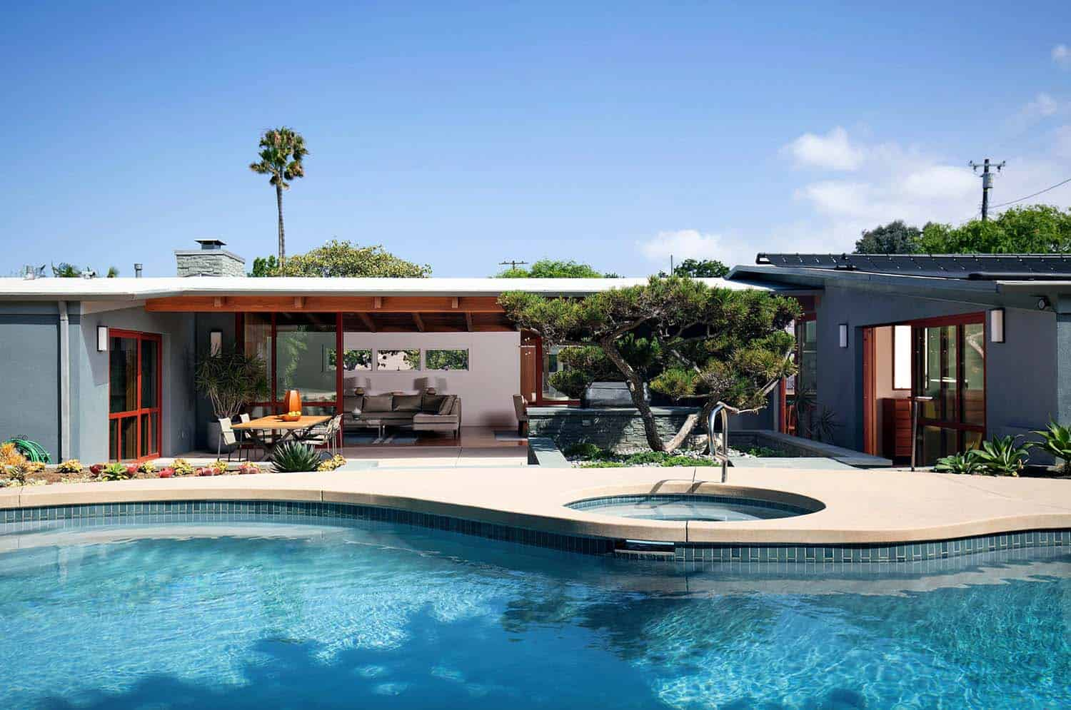 Absolutely Stunning Renovation Of A Mid Century Modern Home