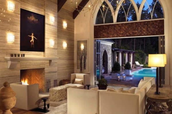 featured posts image for Gothic-inspired pool house in Nashville showcases a cellar for wine-lovers