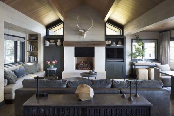 featured posts image for Rustic lake house retreat inspired by gorgeous Lake Tahoe surroundings