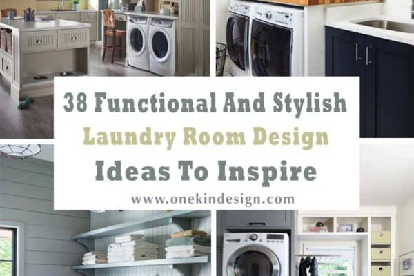 featured posts image for 38 Functional And Stylish Laundry Room Design Ideas To Inspire