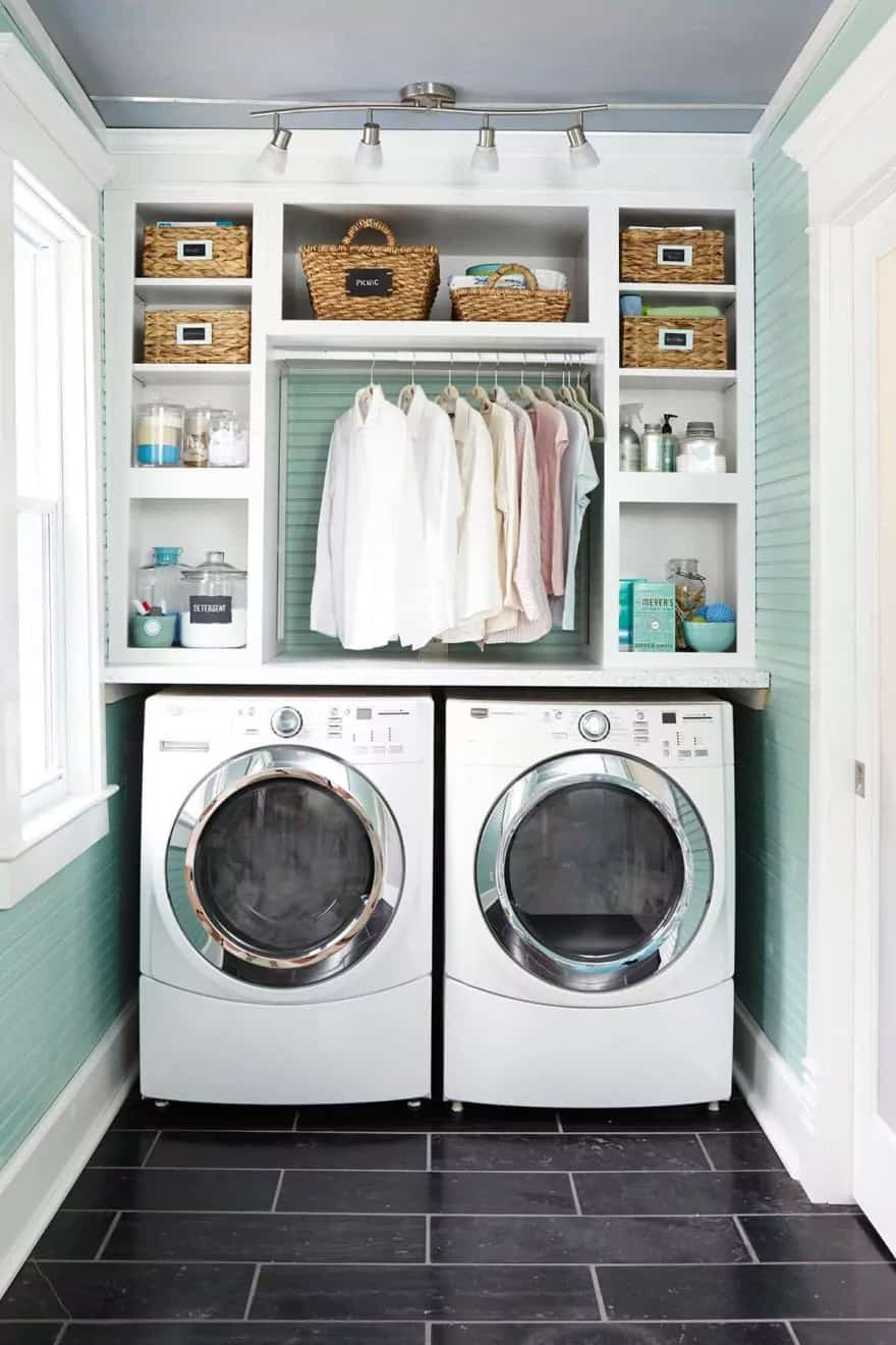 colorful-compact-laundry-room