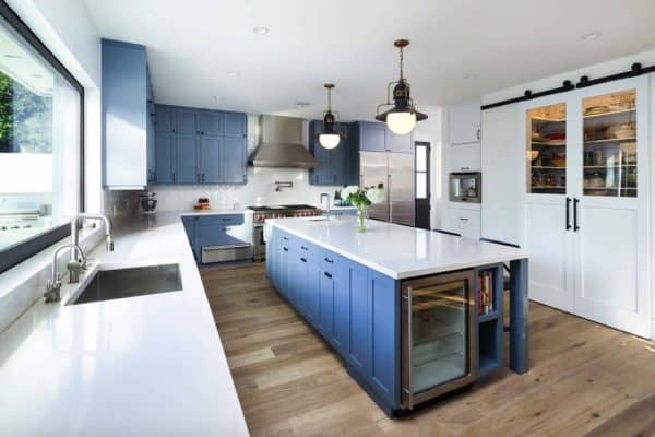 featured posts image for Traditional style home with a modern twist gets inspiring renovation in LA