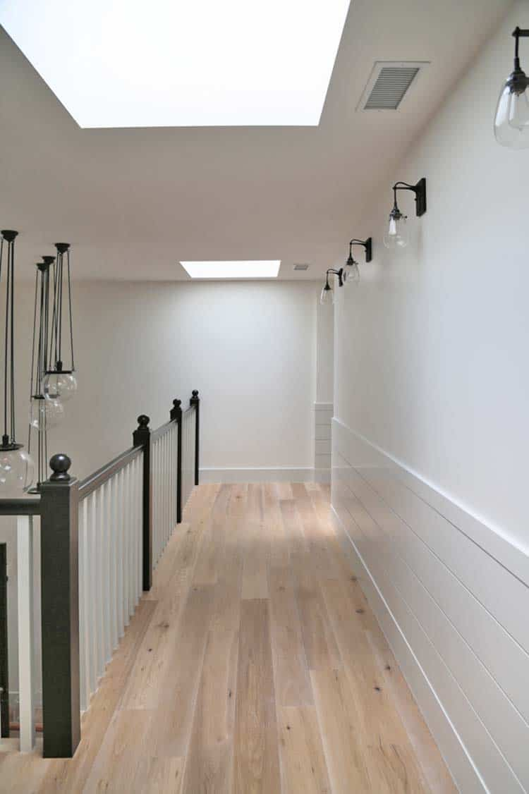 transitional-home-hallway