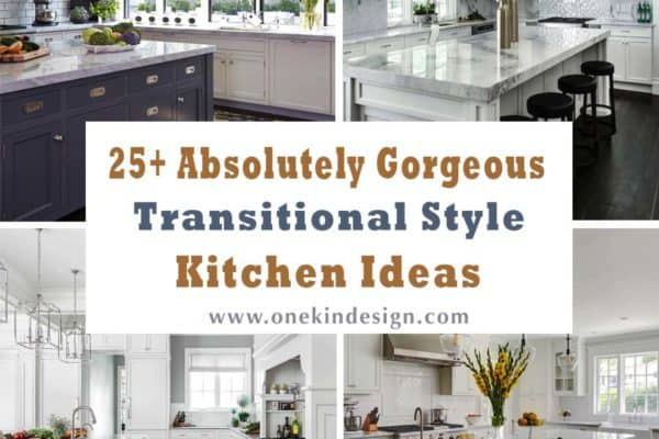 featured posts image for 25+ Absolutely Gorgeous Transitional Style Kitchen Ideas