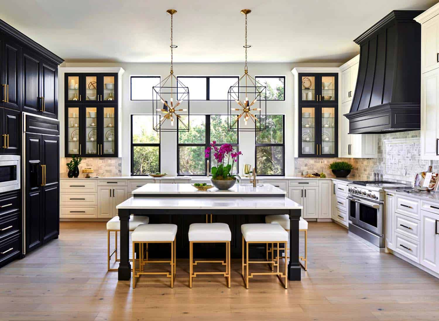 25 absolutely gorgeous transitional style kitchen ideas - Kitchen transitional design ideas ...