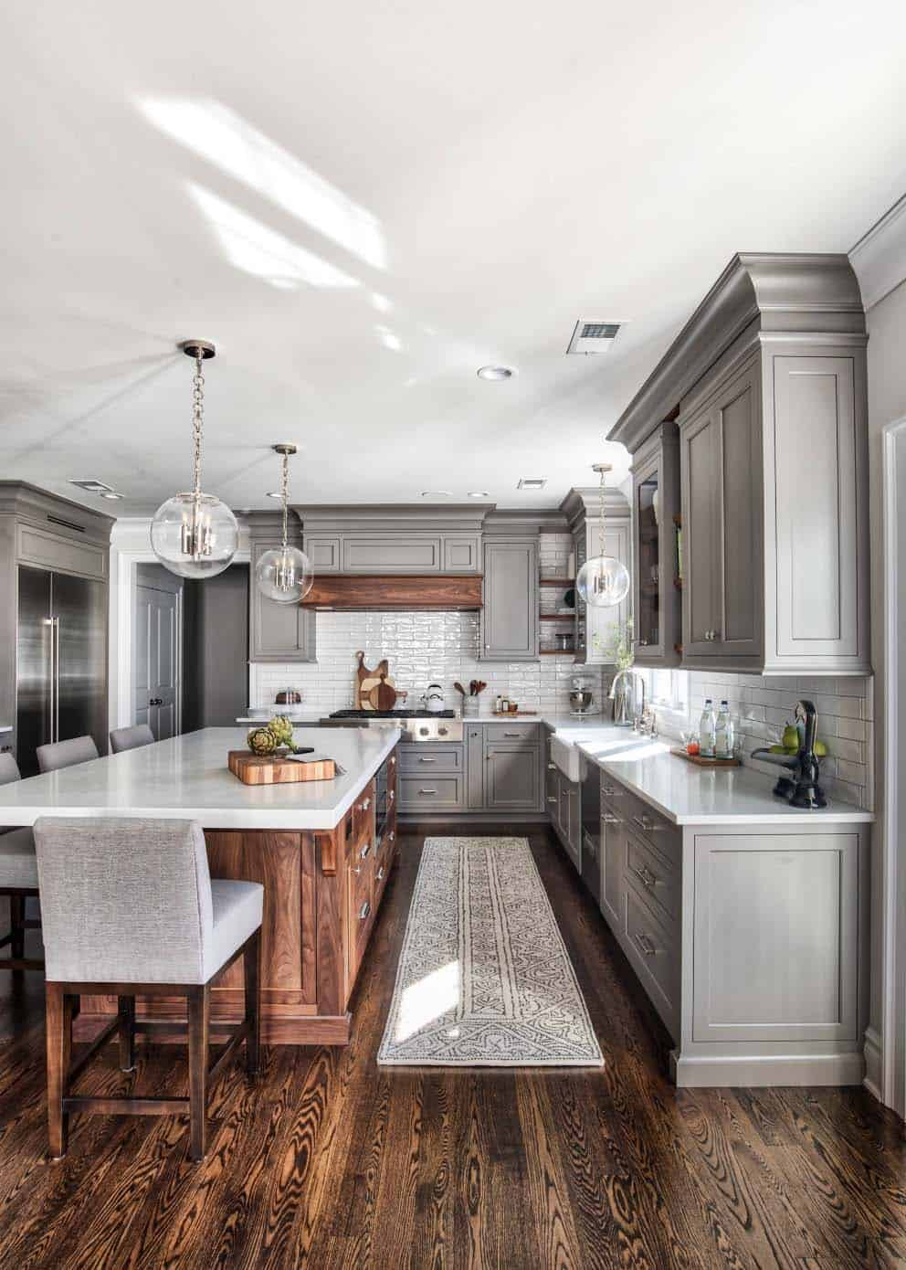 Kitchen Cabinet Remodel Ideas: 25+ Absolutely Gorgeous Transitional Style Kitchen Ideas