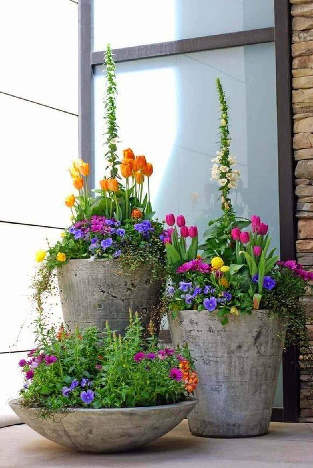 porch-decorating-flowers