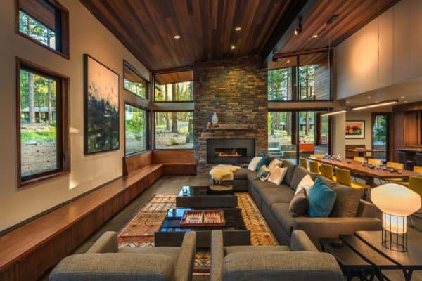 featured posts image for Prefabricated Tahoe mountain home secluded in beautiful pine forest