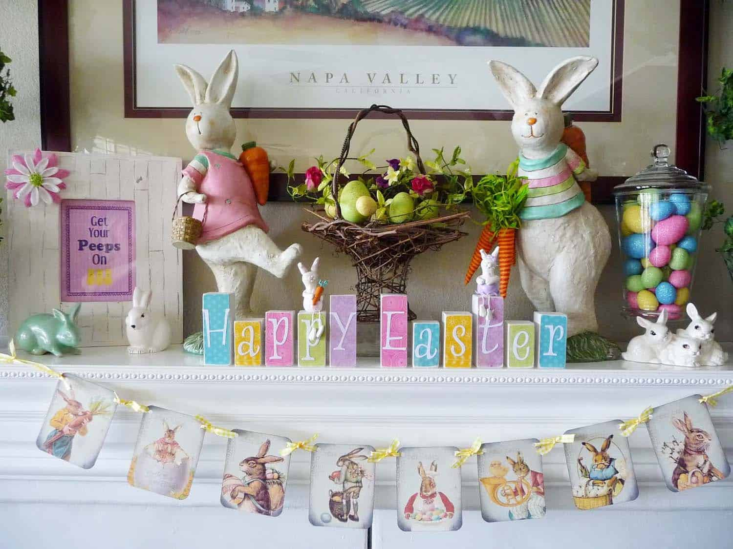 creative-easter-mantel-decorating