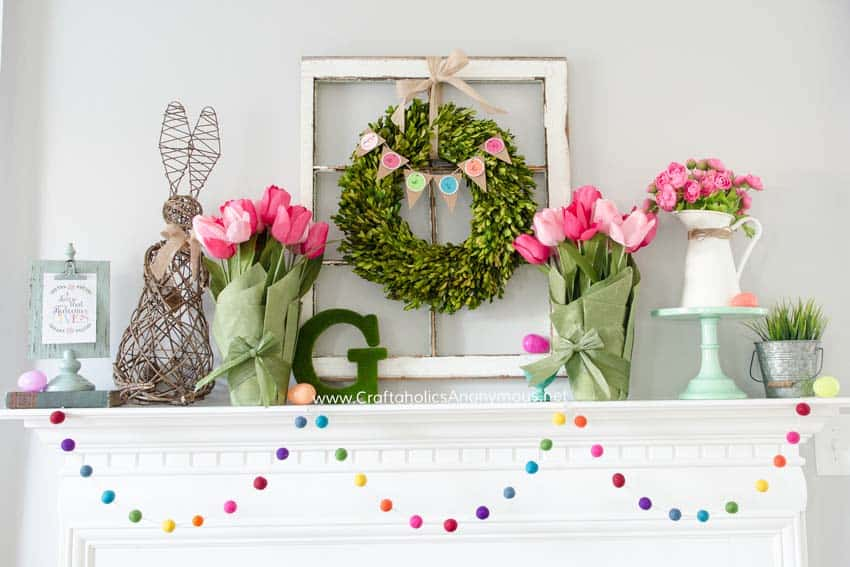 featured posts image for 28 Stylish Ideas To Creatively Decorate Your Mantel For Easter