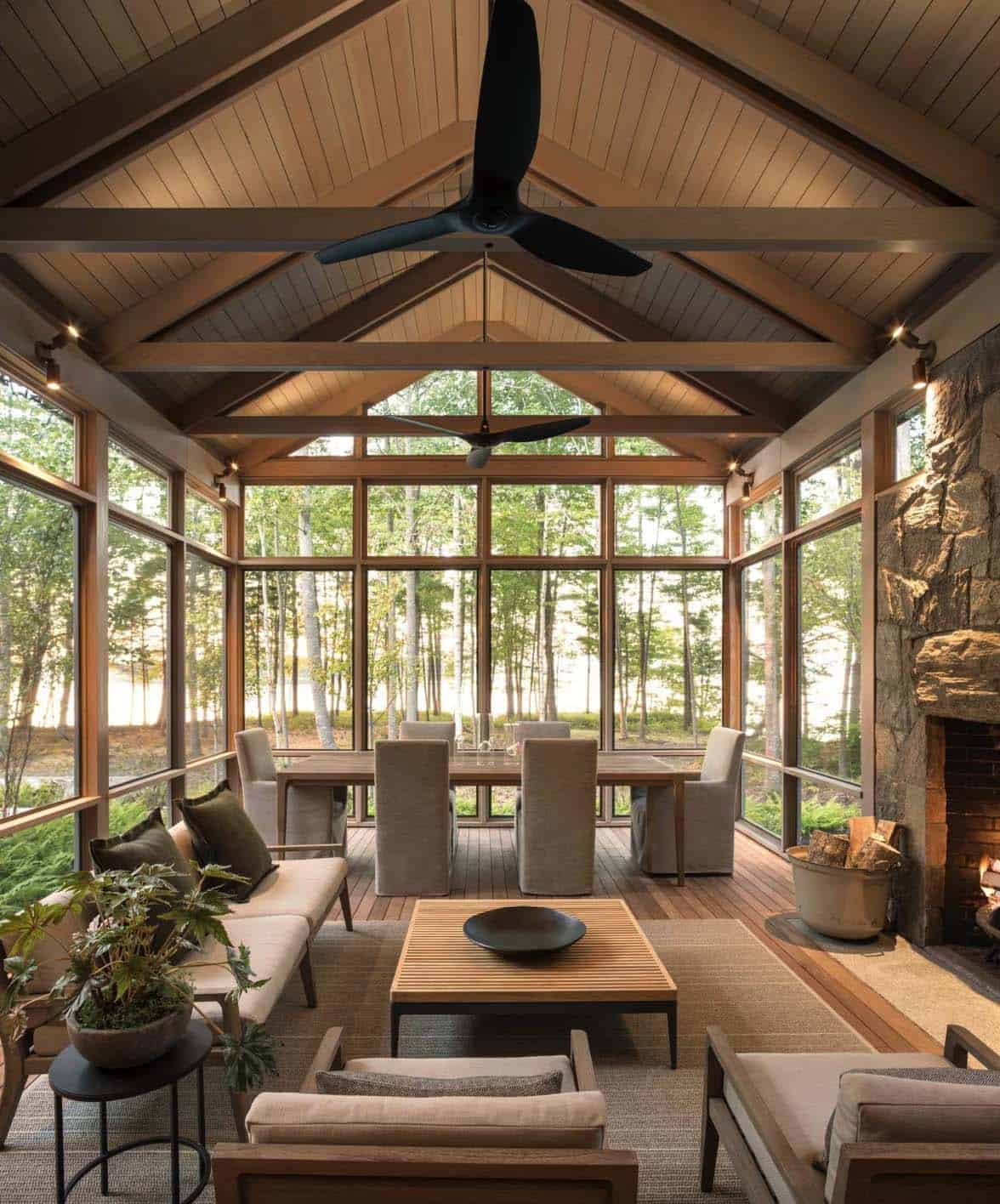 featured posts image for 30+ Fabulous Screened-In Porch Ideas Boasting Woodsy Views