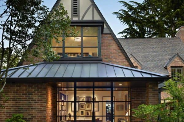 featured posts image for Tudor home features a stunning modern twist on Lake Washington