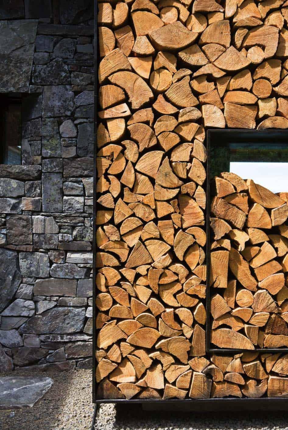 rustic-cabin-exterior-wood-storage