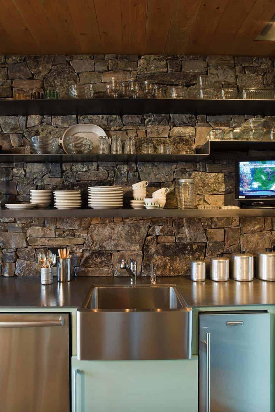 rustic-cabin-kitchen