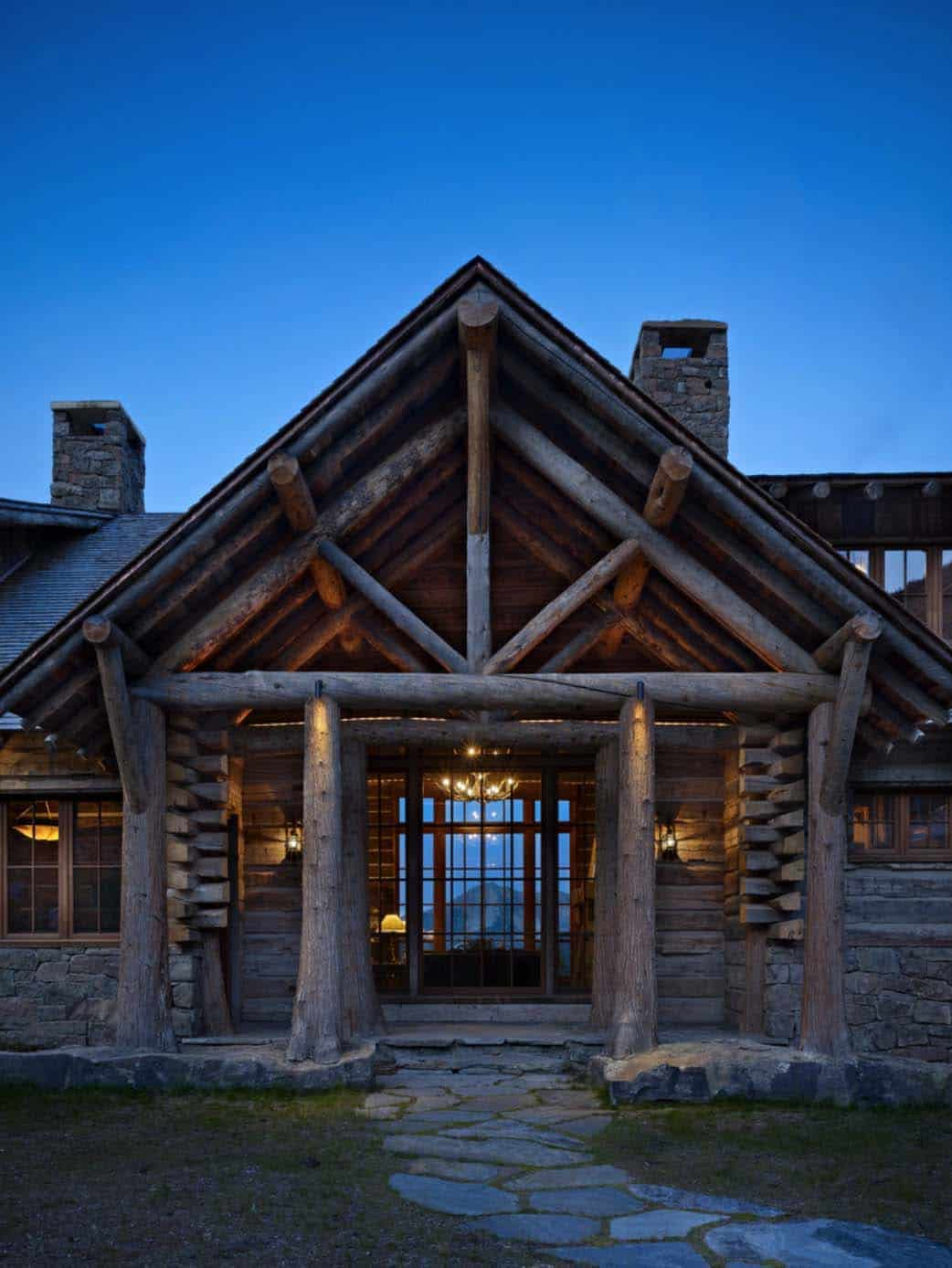 mountain-retreat-rustic-entry