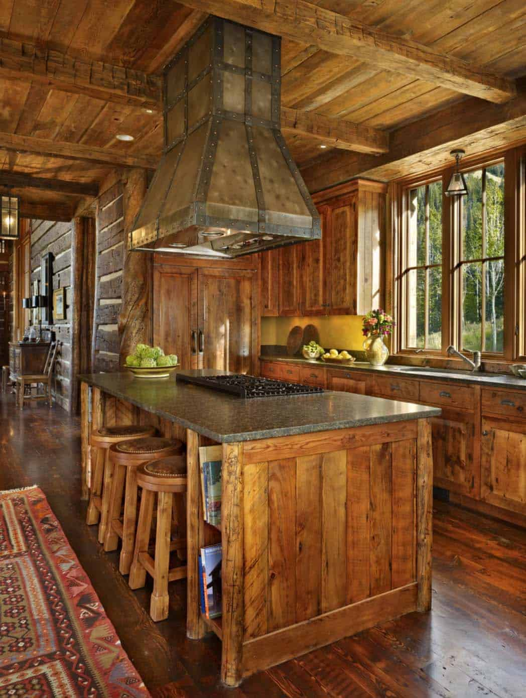 mountian-retreat-rustic-kitchen