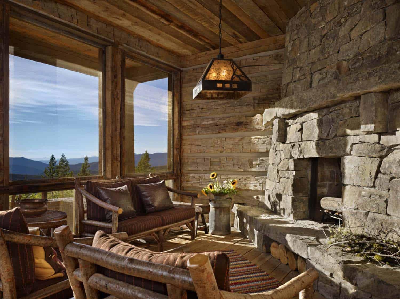 mountian-retreat-rustic-sunroom