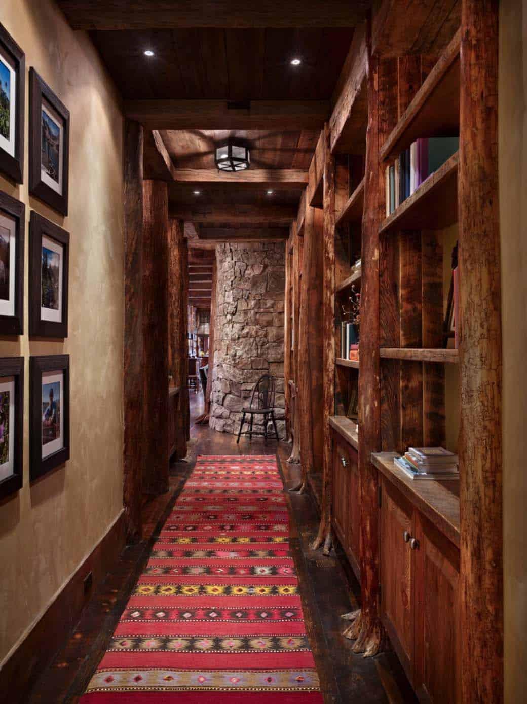 mountain-retreat-rustic-hall