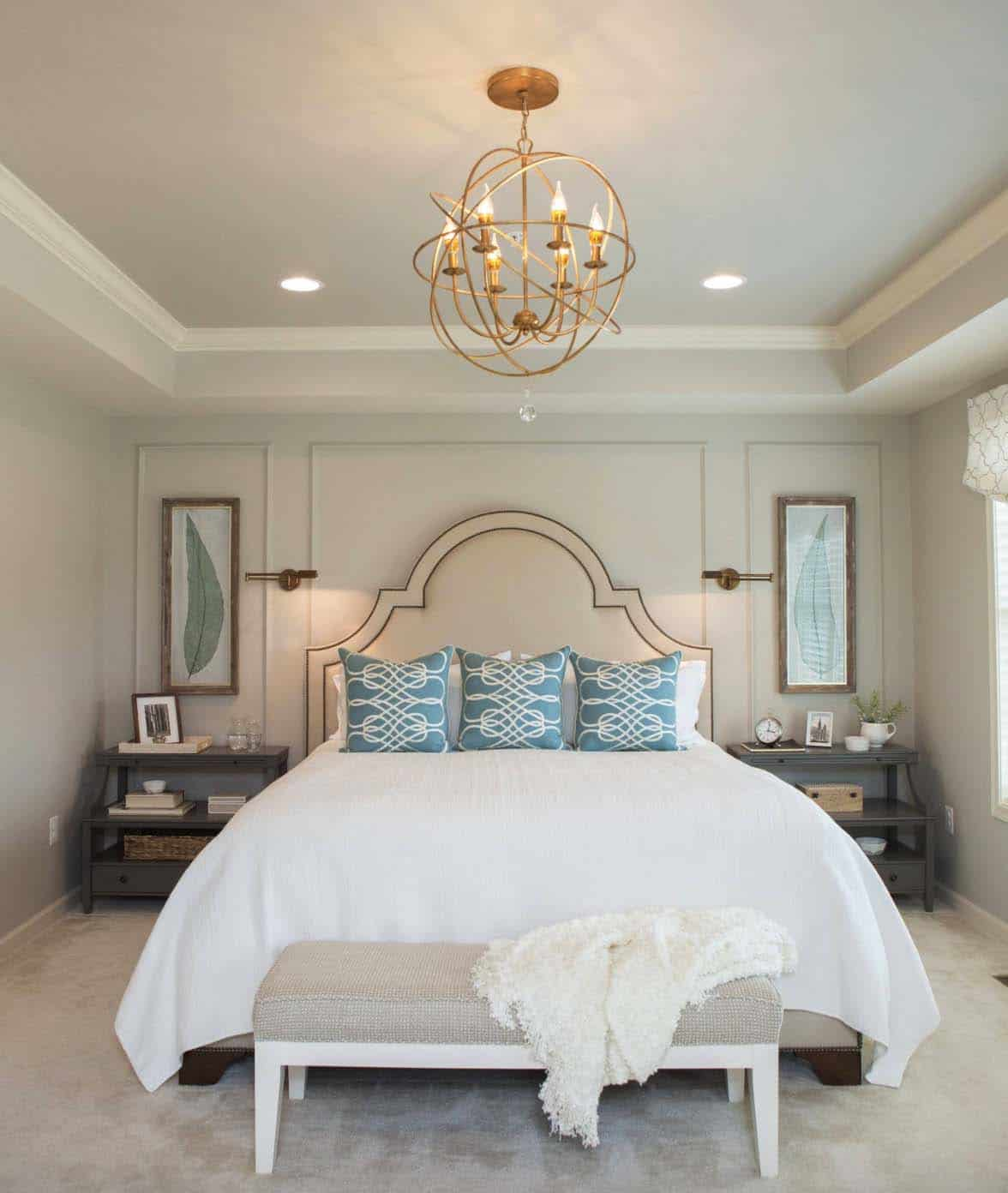 20+ Serene And Elegant Master Bedroom Decorating Ideas