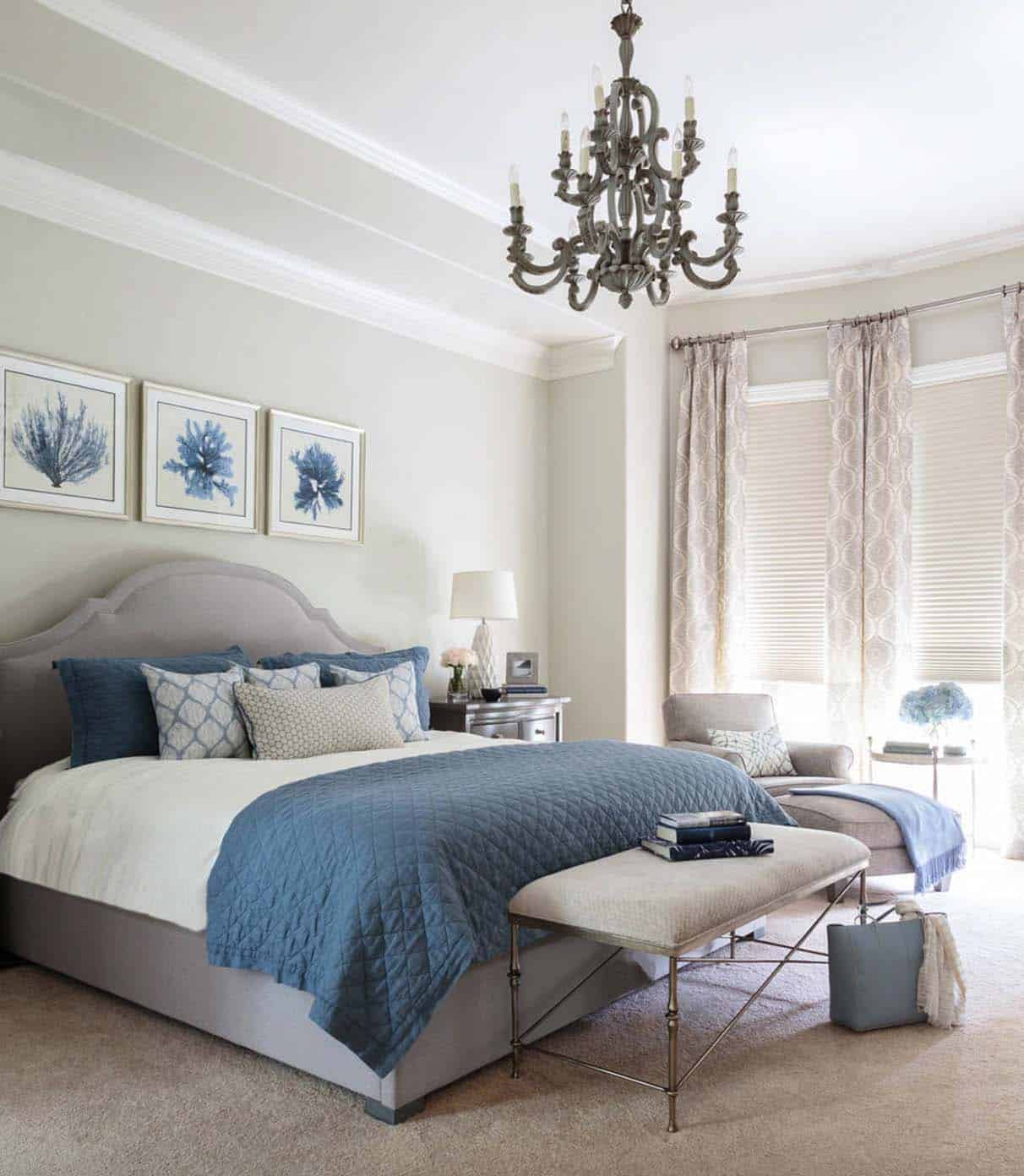 Grey Master Bedroom: 20+ Serene And Elegant Master Bedroom Decorating Ideas