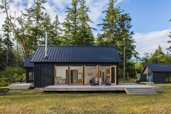 featured posts image for Modern cabin inspired by Danish design on the Hood Canal, Washington