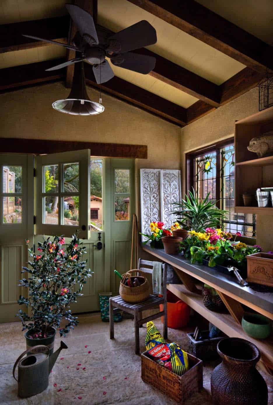 spanish-estate-mediterranean-potting-shed