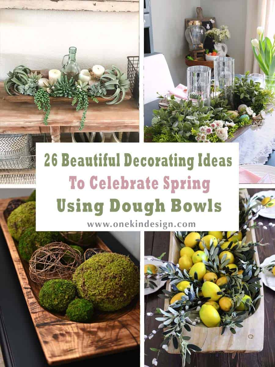26 Beautiful Decorating Ideas To Celebrate Spring Using