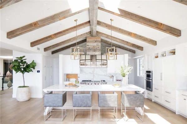 featured posts image for Craftsman inspired farmhouse provides dreamy seaside home in California