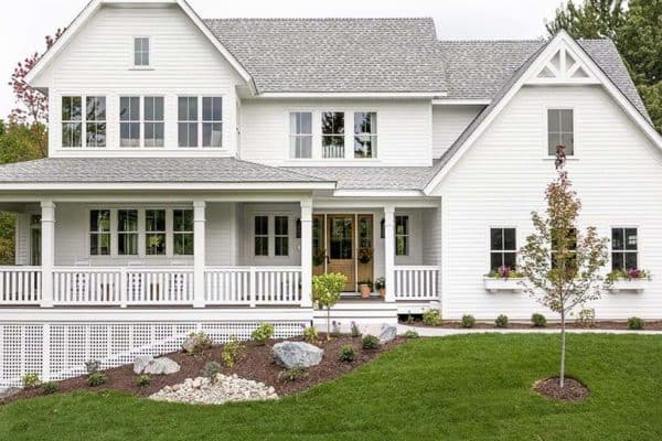 featured posts image for Classic farmhouse meets contemporary inside a delightful Minnesota home