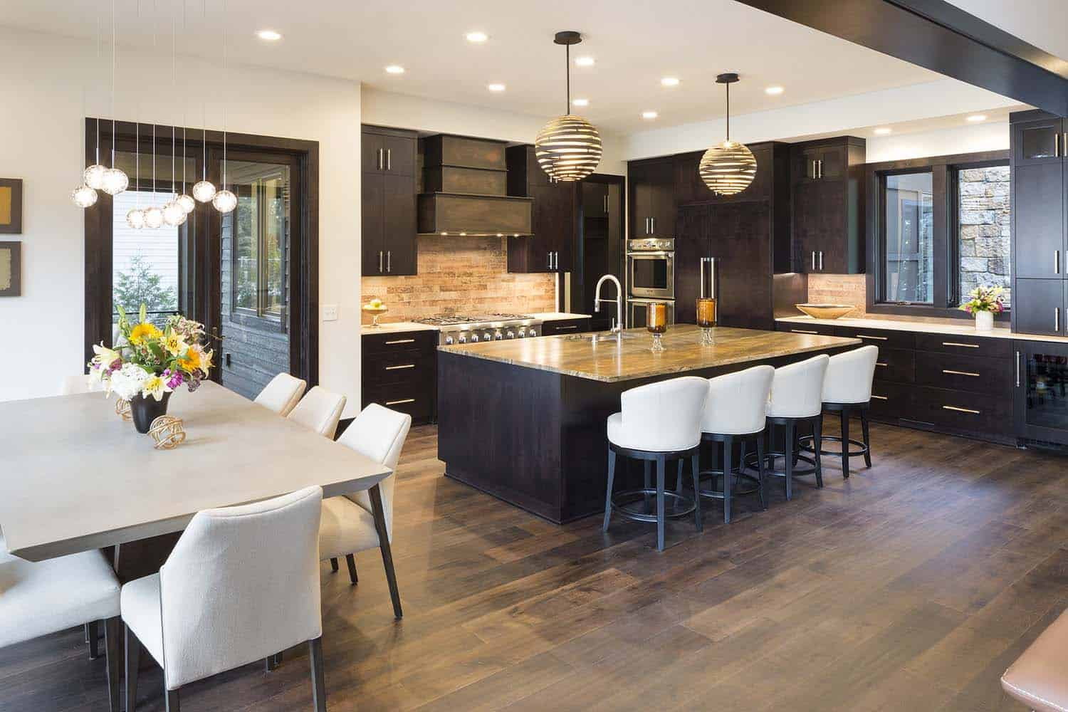 rustic-contemporary-lake-house-kitchen