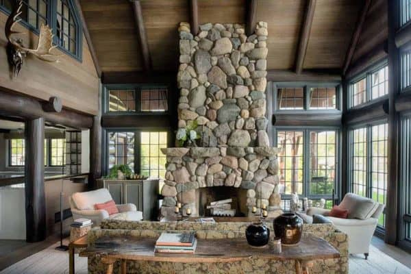 featured posts image for Dreamy rustic cabin with cozy interiors nesting lakeside in Minnesota