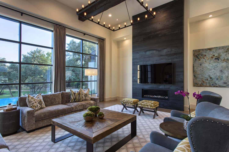 Fresh Modern Twist On Traditional Mediterranean Style Home
