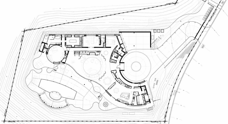 mid-century-modern-home-site-plan