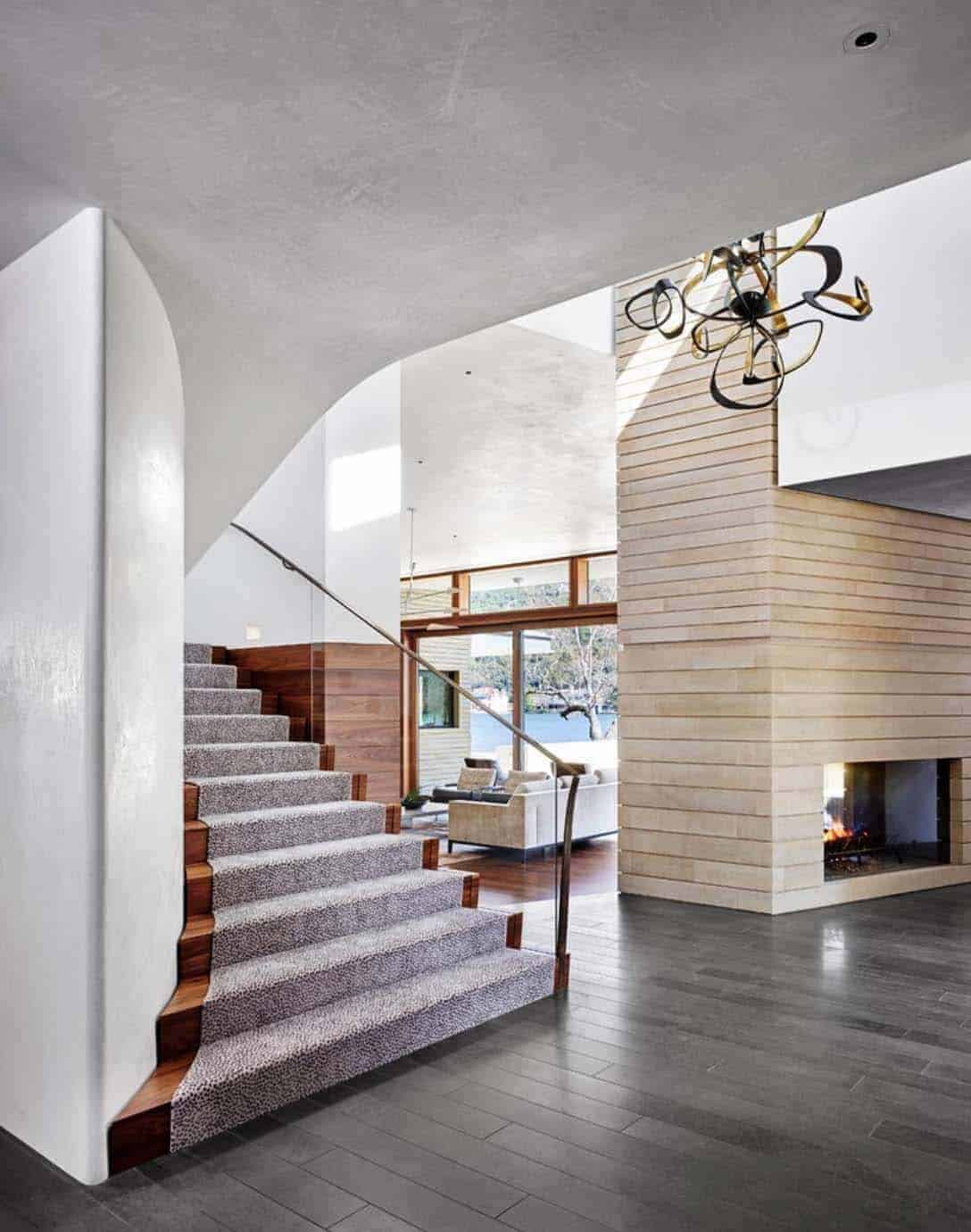 family-lake-house-contemporary-staircase