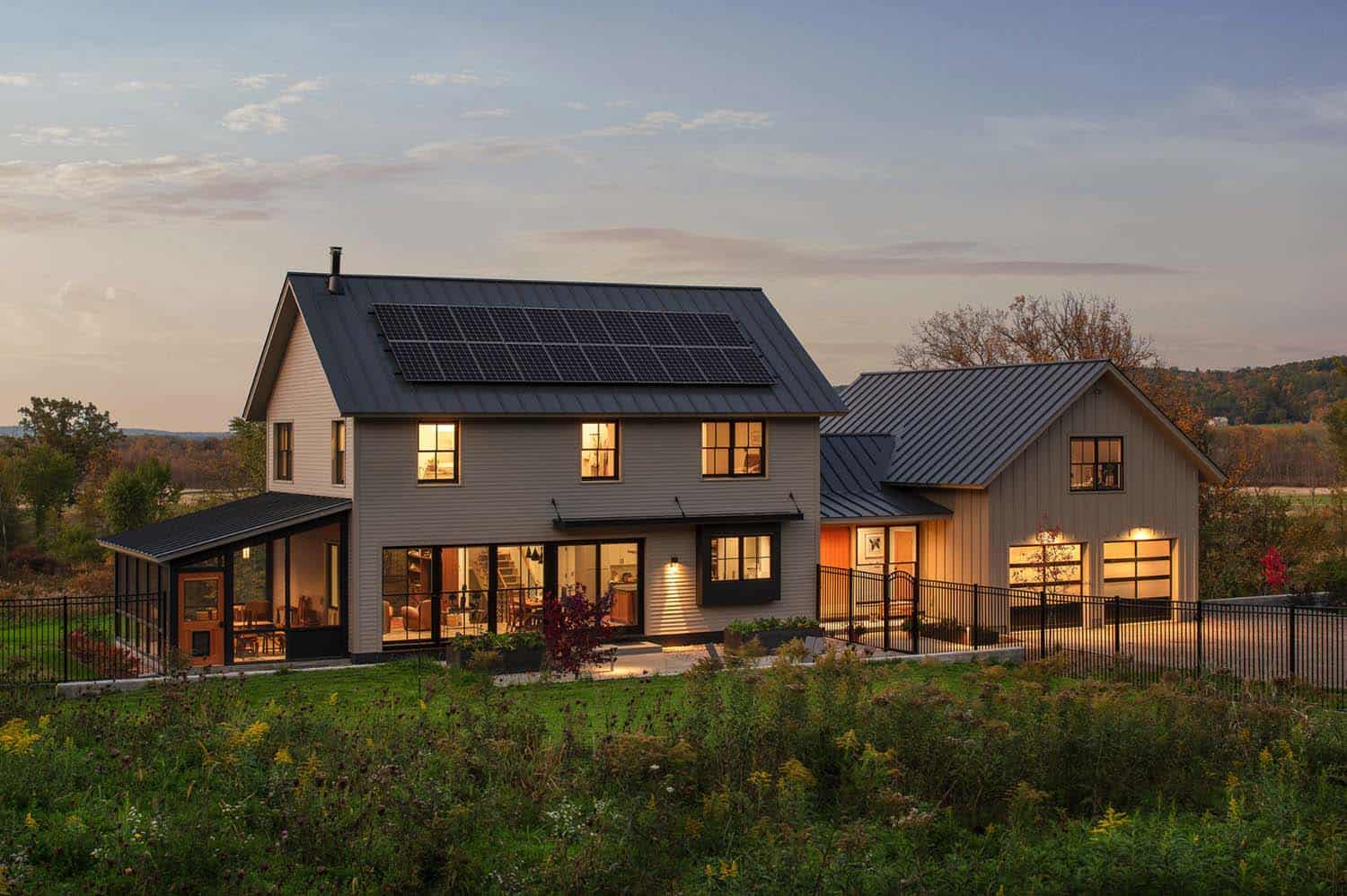 A Net Zero Farmhouse Rooted In The Exquisite Vermont Countryside