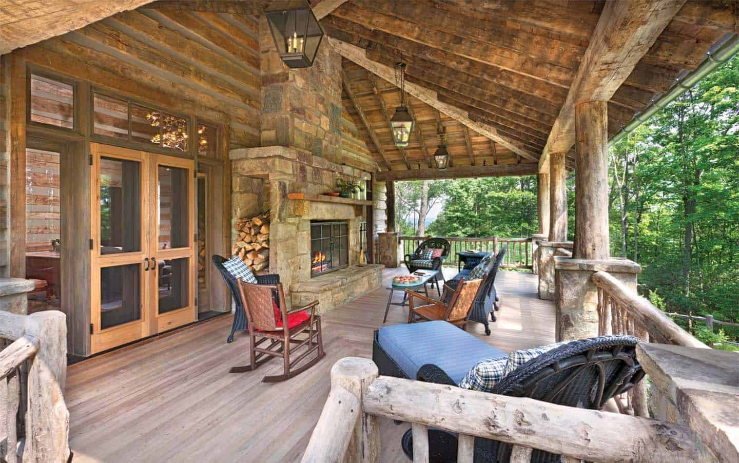 rustic-home-porch