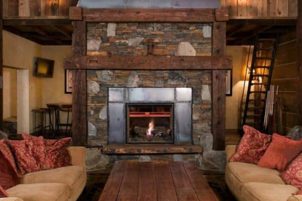 featured posts image for Fabulous rustic mountain retreat in Lake Tahoe with decadent details