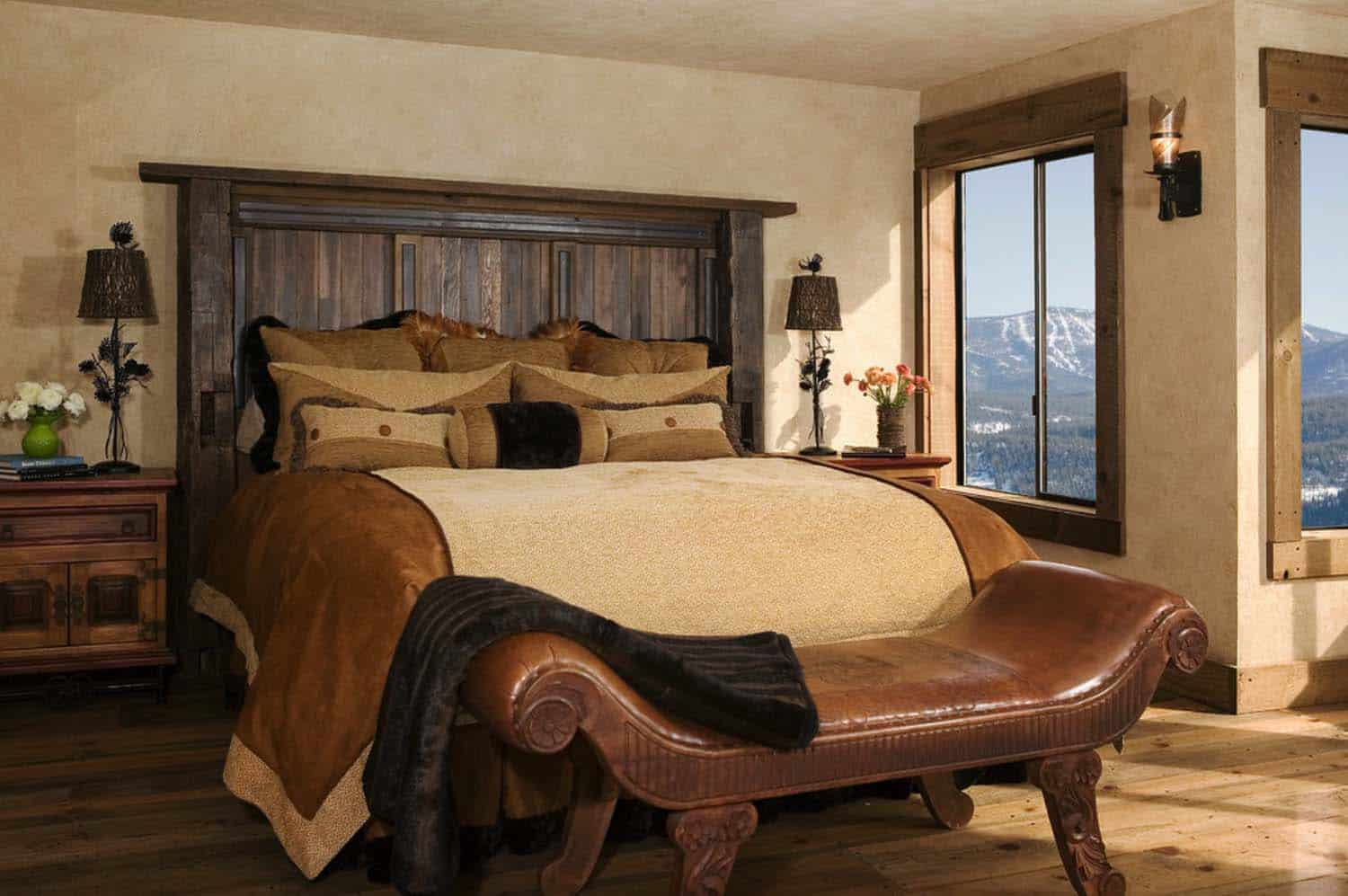 rustic-mountain-retreat-bedroom