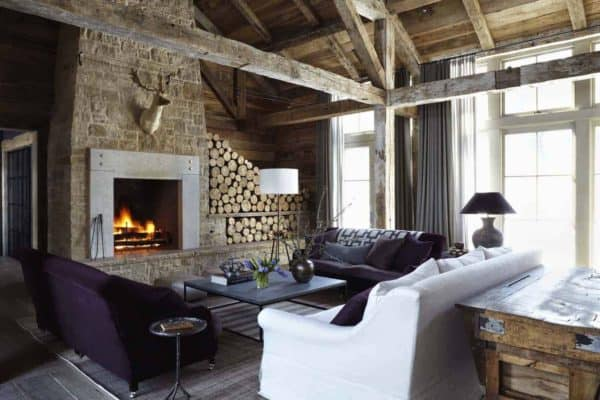 featured posts image for Rustic-chic retreat set against the backdrop of the Sawtooth Mountains